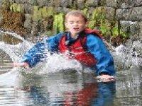 Kid coasteering