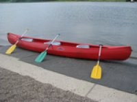 Canoes are great fun.