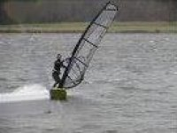 Windsurfing is awesome.