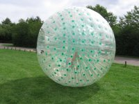 Zorbing by yourself,
