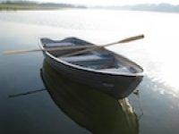 Hire a rowboat.