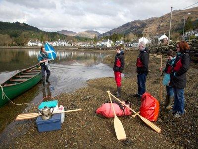 Argyll Voyageur Canoes Canoeing
