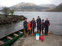 Great day canoing at Loch Goil