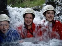 Getting wet!