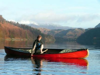 Talkin Tarn Activities Canoeing