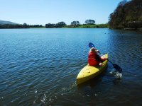Kayaking at Talkin Tarn