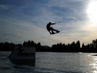 Wakeboarding is also available.