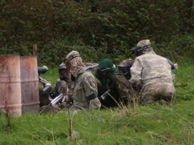 Full Day 1000 Paintball Session Barnstaple