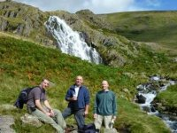 On the way to Grisedale Tarn from Grasmere, Cumbria