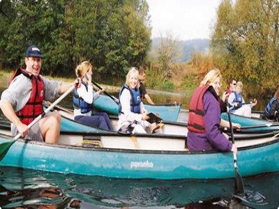 Cinnamon Active Canoeing