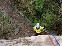 Abseiling at Borrowdale