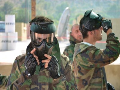 Paintball in Alcudia with 200 balls + equipment