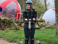 Between zorbing and segways