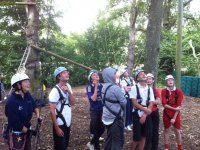 High rope courses for school groups