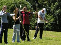 Target archery tuition