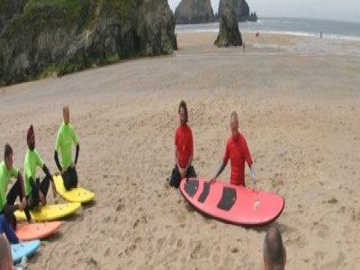EBO Adventure Penhale Surfing