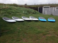 Our stand up paddleboards