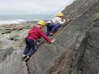 The Lake District Walker Climbing