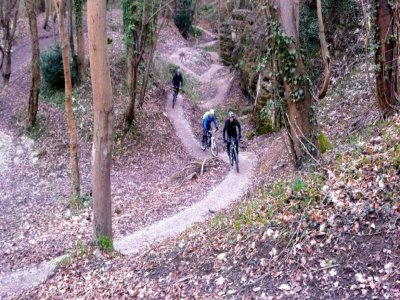 Gone Mountain Biking
