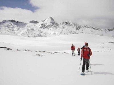 Vía Alpina Raquetas de Nieve