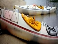 Closed deck kayaks