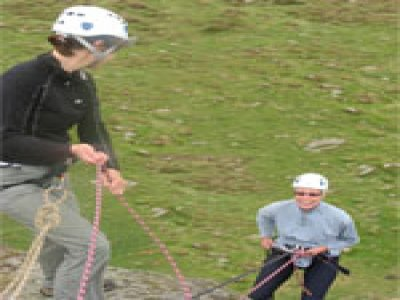 Indie Outdoors Abseiling
