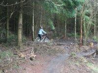 Mountain bike hire and training
