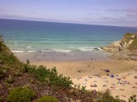 Our scenic beach