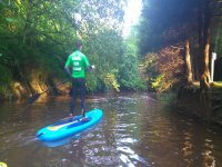 SUP on the river