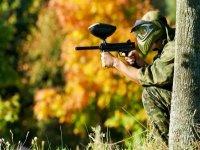 Paintballing sniper
