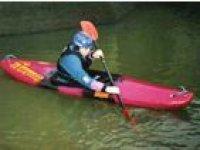 Individual kayaking