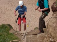 Learning the ropes of abseiling