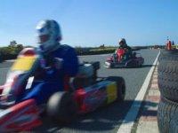 Our go karting course
