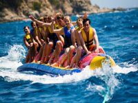 Banana Boating Cornwall