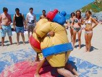 Beach Sumo Cornwall