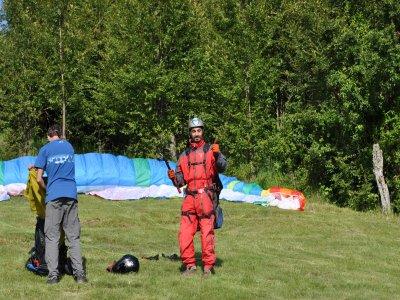 Paragliding initiation course Castejón de Sos 5d