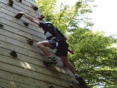Elveden Forest Center Parcs Climbing