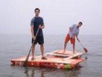 Pair rafting