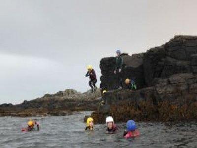 The Venture Centre Coasteering