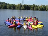 Kayaking is a great group activity