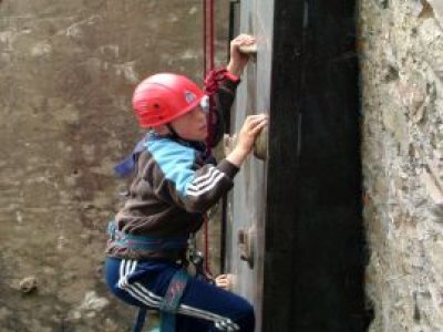 The Venture Centre Abseiling