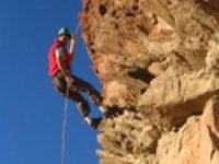 Abseiling is also available and fun.