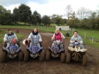 Quad biking is a great activity to do with friends