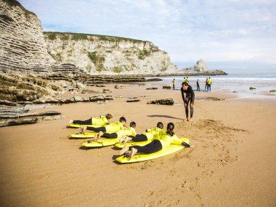Langre Beach Surf