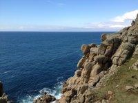 The stunning coasline of Cornwall