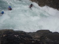 Playing in the white water