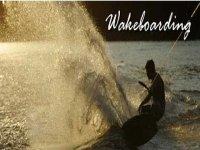 Make a splash wakeboarding