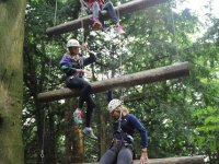 High ropes are great fun
