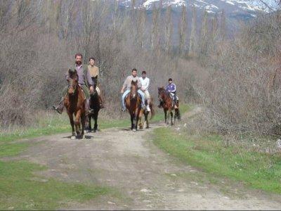 Horse riding in Lozoya Valley, Madrid. 2 hours