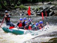 Rafting is loads of fun.